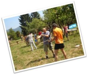 team building orienteering programma