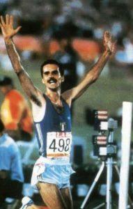 Alberto Cova olimpiadi los angeles 1984